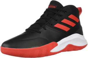 adidas Mens Ownthegame Wide Basketball Shoe