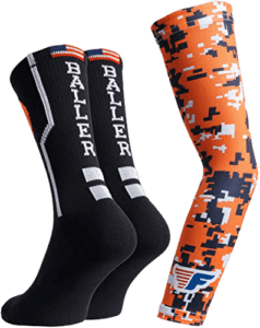 Youth Boys Basketball Socks Sports Athletic Crew Socks