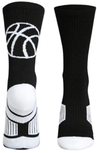 Basketball Woven Mid Calf Socks
