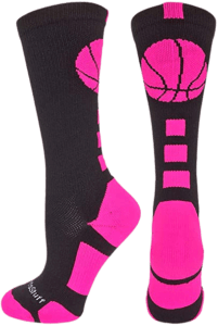 MadSportsStuff Basketball Socks with Basketball Logo Review