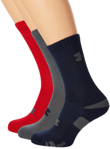 Under Armour Mens HeatGear Crew Socks