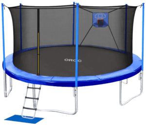 ORCC Trampoline 15 14 12 10FT Basketball Trampoline Review