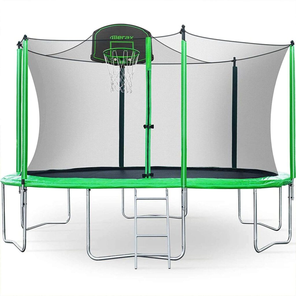 Merax 12FT Trampoline with Safety Enclosure Net Review